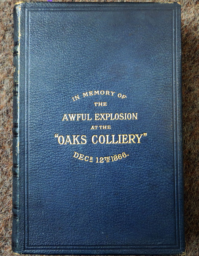 """Oaks Bible"" this one is in the Miners' Hall in Barnsley."