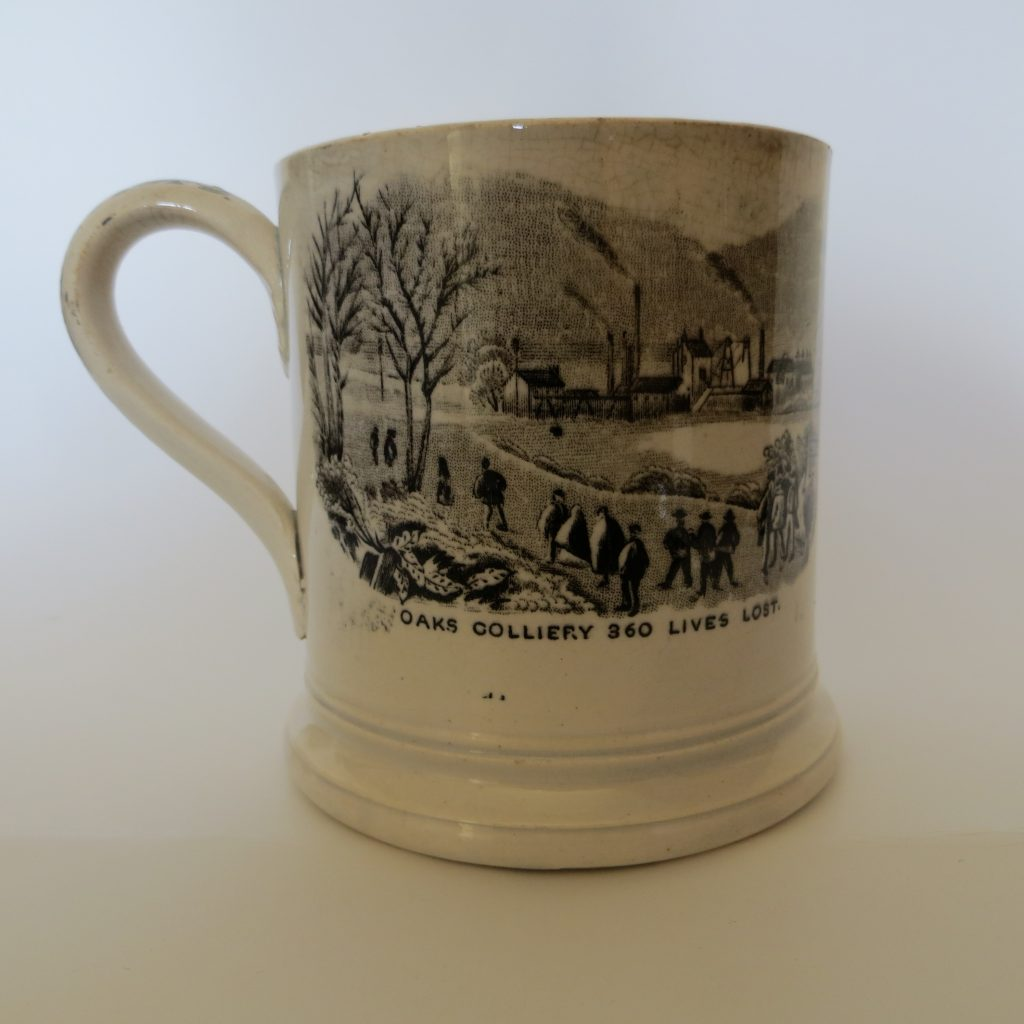 Oaks Commemorative Cup ' Oaks Colliery 360 Lives Lost'